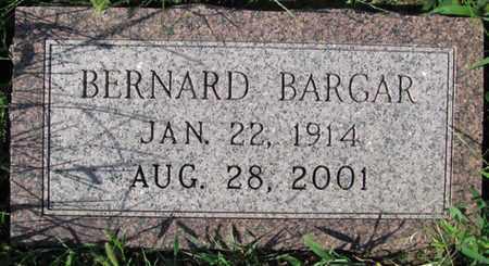 BARGAR, BERNARD - Saunders County, Nebraska | BERNARD BARGAR - Nebraska Gravestone Photos