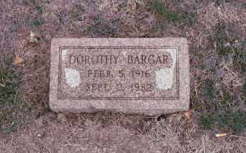 BARGAR, DOROTHY - Saunders County, Nebraska | DOROTHY BARGAR - Nebraska Gravestone Photos