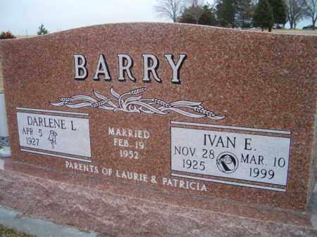 BARRY, IVAN E. - Saunders County, Nebraska | IVAN E. BARRY - Nebraska Gravestone Photos