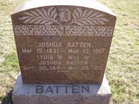 BATTEN, LYDIA W. - Saunders County, Nebraska | LYDIA W. BATTEN - Nebraska Gravestone Photos