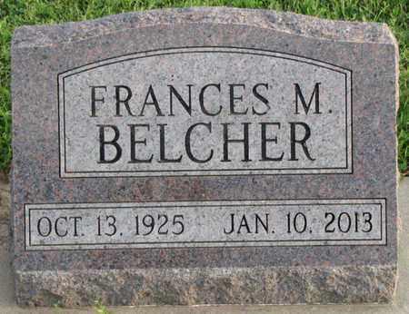 BELCHER, FRANCES M. - Saunders County, Nebraska | FRANCES M. BELCHER - Nebraska Gravestone Photos