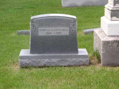 ELLISON BELL, ISABELLE - Saunders County, Nebraska | ISABELLE ELLISON BELL - Nebraska Gravestone Photos