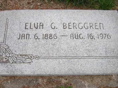 BERGGREN, ELVA G. - Saunders County, Nebraska   ELVA G. BERGGREN - Nebraska Gravestone Photos