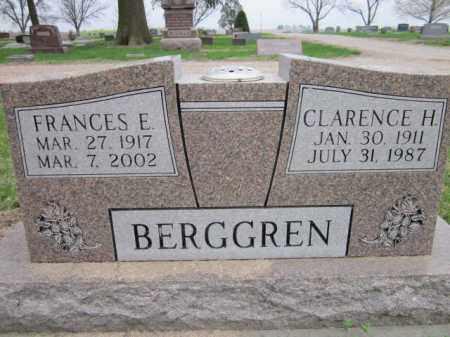 BERGGREN, FRANCES E. - Saunders County, Nebraska | FRANCES E. BERGGREN - Nebraska Gravestone Photos