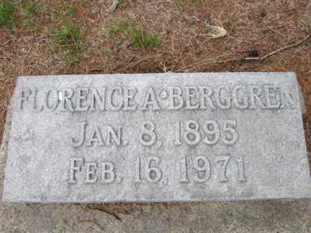BERGGREN, FLORENCE A. - Saunders County, Nebraska | FLORENCE A. BERGGREN - Nebraska Gravestone Photos