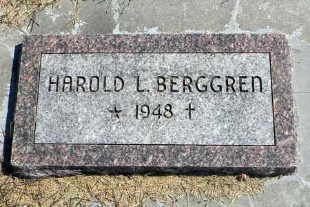 BERGGREN, HAROLD L - Saunders County, Nebraska   HAROLD L BERGGREN - Nebraska Gravestone Photos