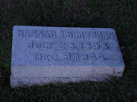 BERGGREN, HANNAH - Saunders County, Nebraska | HANNAH BERGGREN - Nebraska Gravestone Photos
