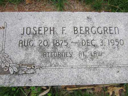 BERGGREN, JOSEPH F. - Saunders County, Nebraska | JOSEPH F. BERGGREN - Nebraska Gravestone Photos