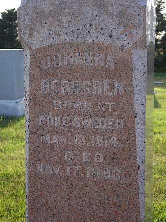 BERGGREN, JOHANNA - Saunders County, Nebraska   JOHANNA BERGGREN - Nebraska Gravestone Photos