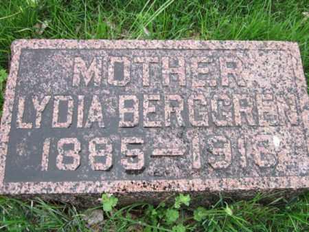 BERGGREN, LYDIA - Saunders County, Nebraska | LYDIA BERGGREN - Nebraska Gravestone Photos