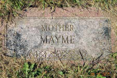 BERGGREN, MAYME - Saunders County, Nebraska | MAYME BERGGREN - Nebraska Gravestone Photos