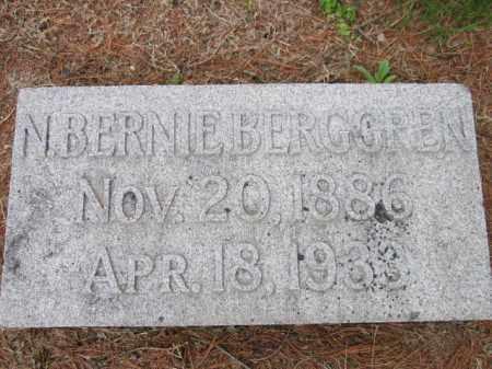 BERGGREN, N. BERNIE - Saunders County, Nebraska   N. BERNIE BERGGREN - Nebraska Gravestone Photos