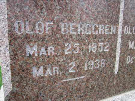 BERGGREN, OLOF (CLOSE UP) - Saunders County, Nebraska | OLOF (CLOSE UP) BERGGREN - Nebraska Gravestone Photos