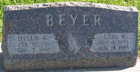 BEYER, CARL W. - Saunders County, Nebraska | CARL W. BEYER - Nebraska Gravestone Photos