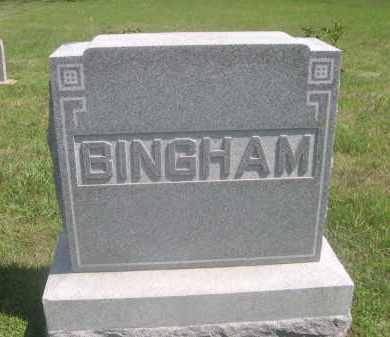 BINGHAM, FAMILY - Saunders County, Nebraska | FAMILY BINGHAM - Nebraska Gravestone Photos