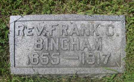 BINGHAM, FRANK C. - Saunders County, Nebraska | FRANK C. BINGHAM - Nebraska Gravestone Photos