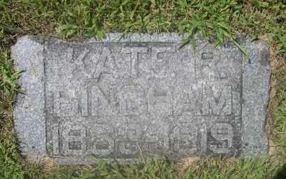 BINGHAM, KATE R. - Saunders County, Nebraska   KATE R. BINGHAM - Nebraska Gravestone Photos