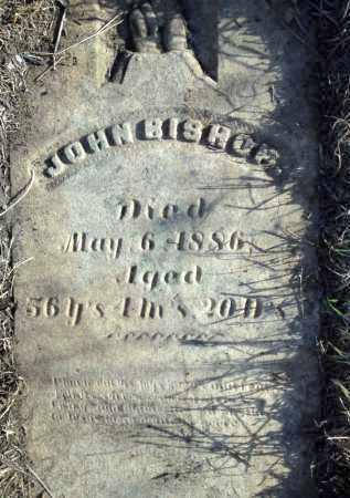 BISHOP, JOHN - Saunders County, Nebraska | JOHN BISHOP - Nebraska Gravestone Photos