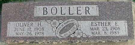 BOLLER, ESTHER E. - Saunders County, Nebraska | ESTHER E. BOLLER - Nebraska Gravestone Photos