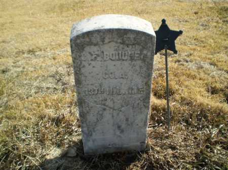 BOUCHER, CHARLES F - Saunders County, Nebraska | CHARLES F BOUCHER - Nebraska Gravestone Photos