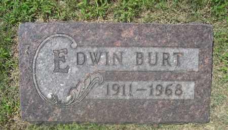 BURT, EDWIN - Saunders County, Nebraska | EDWIN BURT - Nebraska Gravestone Photos