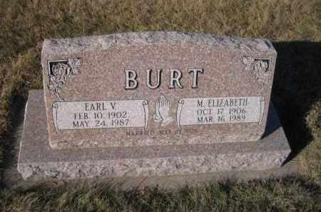 BURT, M. ELIZABETH - Saunders County, Nebraska | M. ELIZABETH BURT - Nebraska Gravestone Photos