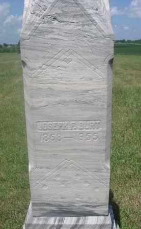 BURT, JOSEPH F. - Saunders County, Nebraska   JOSEPH F. BURT - Nebraska Gravestone Photos