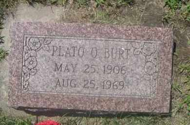 BURT, PLATO O. - Saunders County, Nebraska | PLATO O. BURT - Nebraska Gravestone Photos