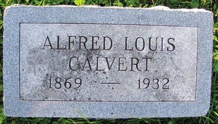 CALVERT, ALFRED LOUIS - Saunders County, Nebraska | ALFRED LOUIS CALVERT - Nebraska Gravestone Photos