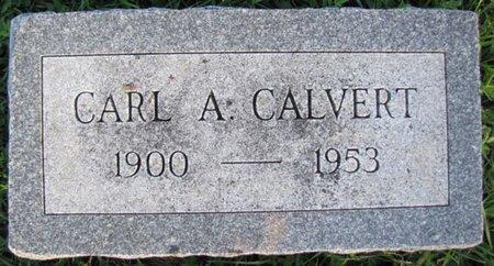 CALVERT, CARL A. - Saunders County, Nebraska | CARL A. CALVERT - Nebraska Gravestone Photos