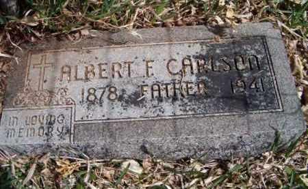 CARLSON, ALBERT FRANCIS - Saunders County, Nebraska   ALBERT FRANCIS CARLSON - Nebraska Gravestone Photos