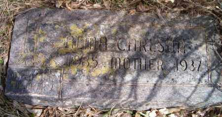 CARLSON, ALMA - Saunders County, Nebraska | ALMA CARLSON - Nebraska Gravestone Photos