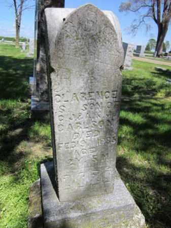 CARLSON, CLARENCE S. - Saunders County, Nebraska   CLARENCE S. CARLSON - Nebraska Gravestone Photos