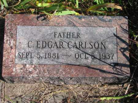 CARLSON, C. EDGAR - Saunders County, Nebraska | C. EDGAR CARLSON - Nebraska Gravestone Photos