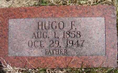 CARLSON, HUGO F - Saunders County, Nebraska | HUGO F CARLSON - Nebraska Gravestone Photos