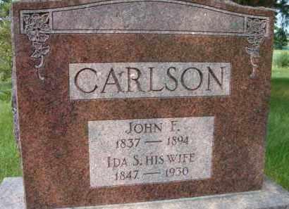 CARLSON, IDA S - Saunders County, Nebraska | IDA S CARLSON - Nebraska Gravestone Photos
