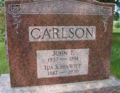 CARLSON, JOHN F - Saunders County, Nebraska | JOHN F CARLSON - Nebraska Gravestone Photos