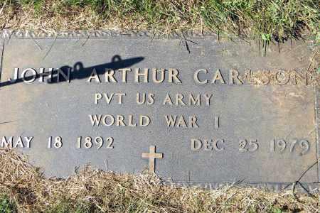 CARLSON, JOHN ARTHUR - Saunders County, Nebraska   JOHN ARTHUR CARLSON - Nebraska Gravestone Photos