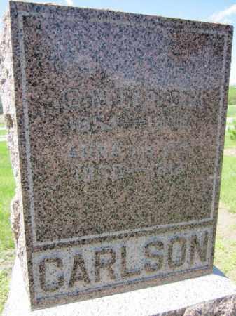 CARLSON, ANNA - Saunders County, Nebraska | ANNA CARLSON - Nebraska Gravestone Photos