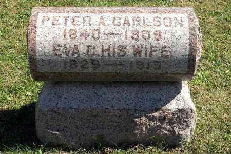 CARLSON, EVA C - Saunders County, Nebraska | EVA C CARLSON - Nebraska Gravestone Photos