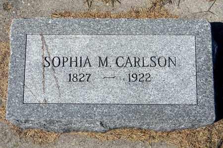 CARLSON, SOPHIA M - Saunders County, Nebraska | SOPHIA M CARLSON - Nebraska Gravestone Photos