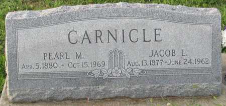 CARNICLE, JACOB L. - Saunders County, Nebraska | JACOB L. CARNICLE - Nebraska Gravestone Photos
