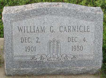 CARNICLE, WILLIAM G. - Saunders County, Nebraska | WILLIAM G. CARNICLE - Nebraska Gravestone Photos