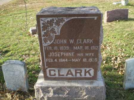 CLARK, JOHN W - Saunders County, Nebraska | JOHN W CLARK - Nebraska Gravestone Photos