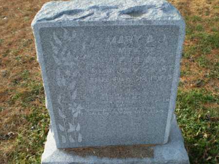 CLARK, MARY A J - Saunders County, Nebraska | MARY A J CLARK - Nebraska Gravestone Photos