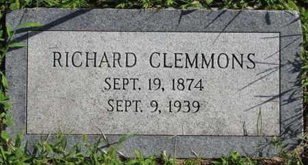 CLEMMONS, RICHARD - Saunders County, Nebraska   RICHARD CLEMMONS - Nebraska Gravestone Photos