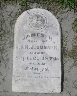 CONNER, JAMES R. - Saunders County, Nebraska | JAMES R. CONNER - Nebraska Gravestone Photos
