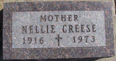 CREESE, NELLIE - Saunders County, Nebraska   NELLIE CREESE - Nebraska Gravestone Photos