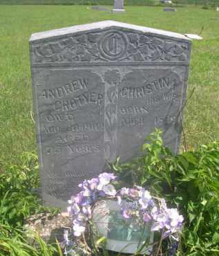 CROTYER, ANDREW - Saunders County, Nebraska | ANDREW CROTYER - Nebraska Gravestone Photos