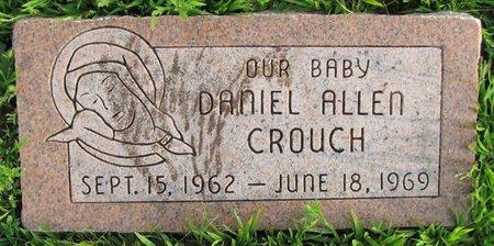 CROUCH, DANIEL ALLEN - Saunders County, Nebraska   DANIEL ALLEN CROUCH - Nebraska Gravestone Photos